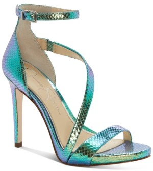 Jessica Simpson Rayli Asymetric Dress Sandals Women's Shoes