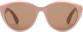 Gucci Specialized fit cat eye sunglasses