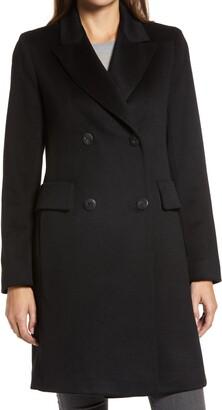 Fleurette Double Breasted Cashmere Coat