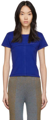 Eckhaus Latta Blue Lapped Baby T-Shirt