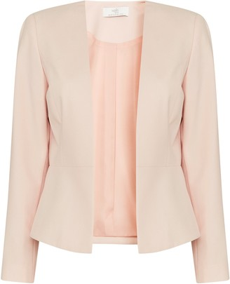 Wallis PETITE Blush Smart Tailored Jacket