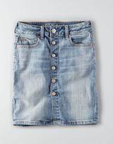 American Eagle AEO Hi-Rise Denim Skirt