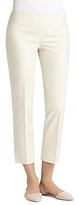 Lafayette 148 New York Metropolitan Stretch Cropped Bleecker Pants