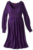 Merona Maternity Long-Bishop Sleeve Sweater Dress - Assorted Colors