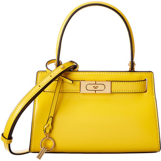 Tory Burch Lee Radziwill Petite Leather Satchel