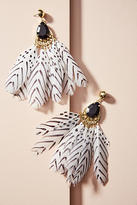 Shiraleah Mona Feather Drop Earrings