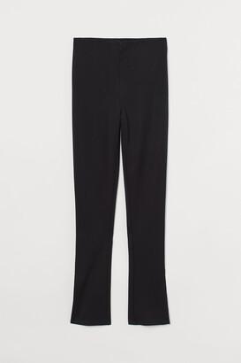 H&M Slit-detail Leggings