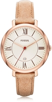 Fossil Jacqueline Sand Leather Women's Watch
