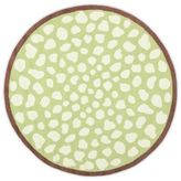 Safavieh Kids® Pebbles 6-Foot Round Area Rug in Green/Ivory