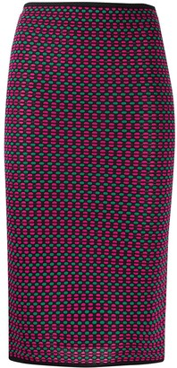 Missoni Pre-Owned 1990s Knitted Pencil Skirt