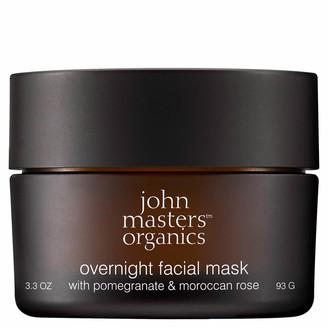 John Masters Organics Overnight Facial Mask with Pomegranate & Moroccan Rose 93g