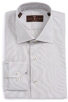 Robert Talbott Men's Estate Tailored Fit Check Dress Shirt