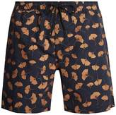 Saturdays NYC Timothy Ginkgo-print swim shorts