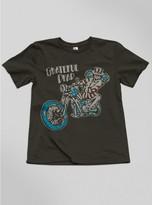 Junk Food Clothing Kids Boys Grateful Dead Motorcycle Tee-bkwa-m