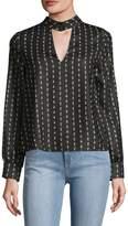 Lucca Couture Women's Bridgette Choker Top