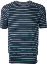 Roberto Collina slim striped T-shirt