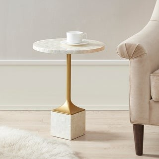 Madison Home USA Bonny Ivory Accent Table