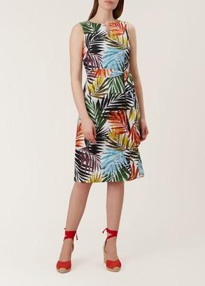 Hobbs Amalfi Linen Dress