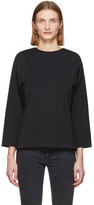 Totême Black Espera Long Sleeve T-Shirt