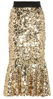 Dolce & Gabbana Sequined Skirt