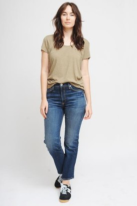 American Vintage Jacksonville Short Sleeve T Shirt In Vintage Verbena - M