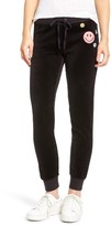 Juicy Couture Women's Call Me Juicy Zuma Velour Track Pants