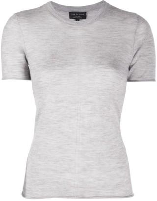Rag & Bone Short-Sleeved Cashmere Top