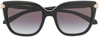 Bulgari ruby Serpenti sunglasses