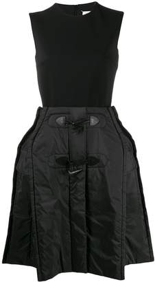 Maison Margiela oversized puffer skirt dress