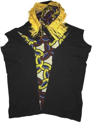 Andrea Crews Black Cotton Top for Women