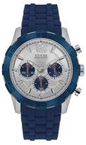 Guess W0864g6 Men`s Silicone Sports Watch