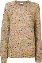 Chloé multi colour sweater - women - Silk/Polyamide/Mohair/Wool - XS