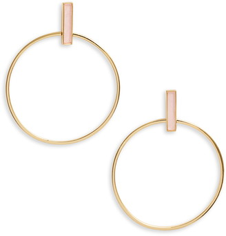 Gorjana Montecito Bar Hoop Earrings