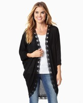 Charming charlie Cocoon Crochet Cardi