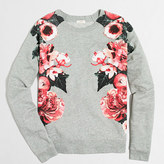 J.Crew Factory Floral sweatshirt
