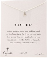 Dogeared Sisters Happy Heart Reminder Necklace