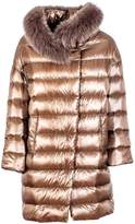 Herno Fur Trim Padded Coat