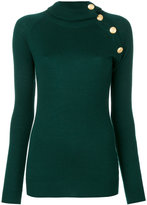 Pierre Balmain turtle neck jumper - women - Polyamide/Viscose/Cashmere/Wool - 38