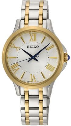 Seiko SRZ526P Dress Silver/Gold