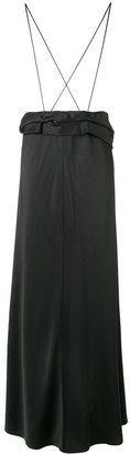 The Row Long Flared Skirt
