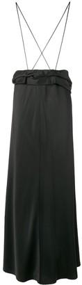 The Row long flared skirt