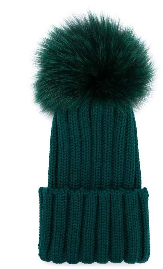 df5b76ca030ce0 Baby Pompom Hat - ShopStyle