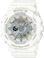 Baby-G Ana-Digi Resin-Strap Watch