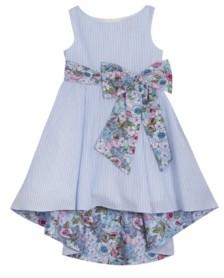 Rare Editions Toddler Girls Printed Seersucker Dress