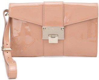 Jimmy Choo Rivera patent clutch bag