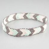Full Tilt Chevron Seed Bead Headband