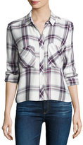 Rails Dylan Plaid Long-Sleeve Shirt, Multi
