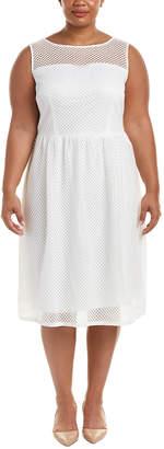 Adrianna Papell Plus Sheath Dress