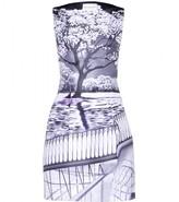 Mary Katrantzou KARDIA SATIN-TWILL DRESS