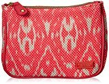 Stephanie Johnson Maya Medium Zip Top Cosmetic Bag, Tamarindo Pink